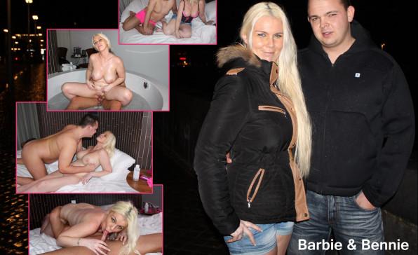Den Haag? Big Tits Barbie woont samen met Bennie in Maastricht!