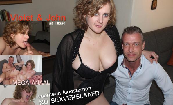 Na het klooster komt de sex: Violet en John uit Tilburg