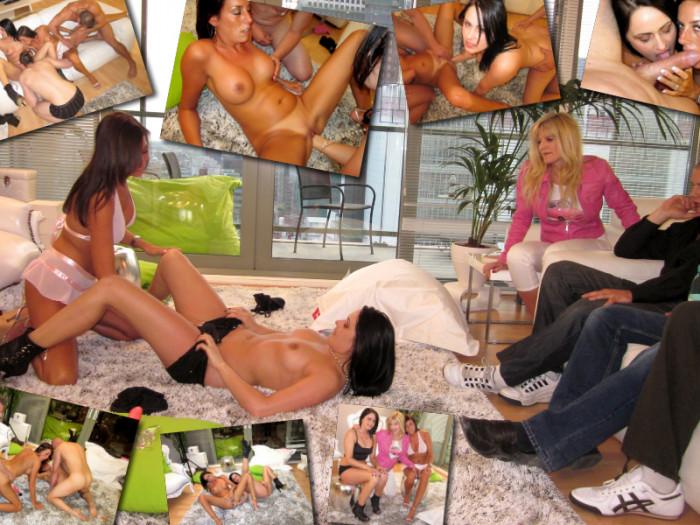 Film Fistfuck orgie met Ilse en Chervana