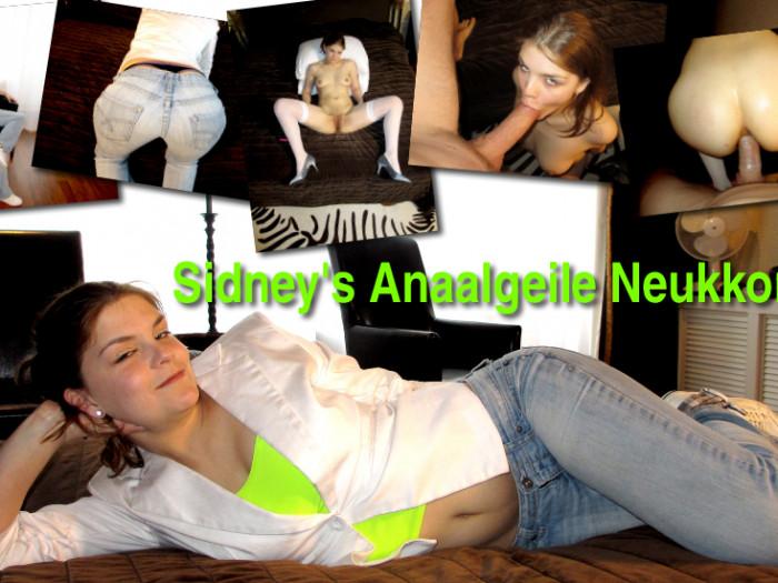Film Sidney (19) heeft simpelweg niet genoeg aan haar vriend, ze is te geil