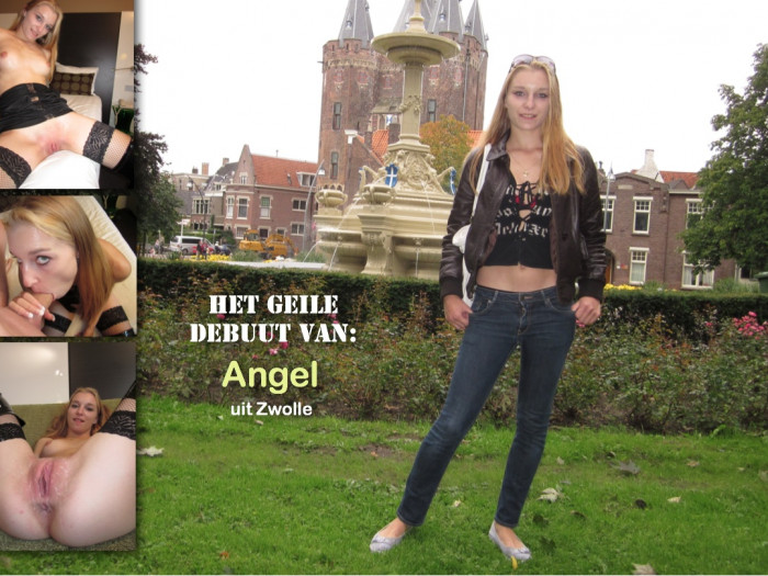 Film De geile eerste opname van Angel uit Zwolle