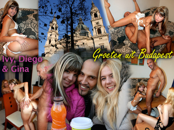 Film Met Diego en Ivy naar Budapest