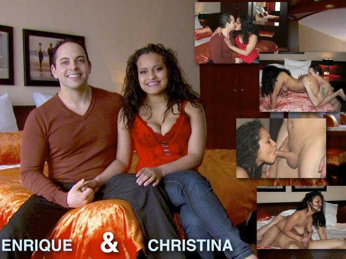 Film Lekker stel Christina en Enrique debuteren bij Kim Holland