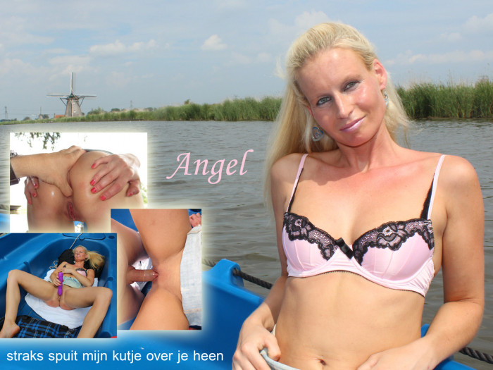 Film Noors-Nederlandse MILF Angel is een squirting sex-animal