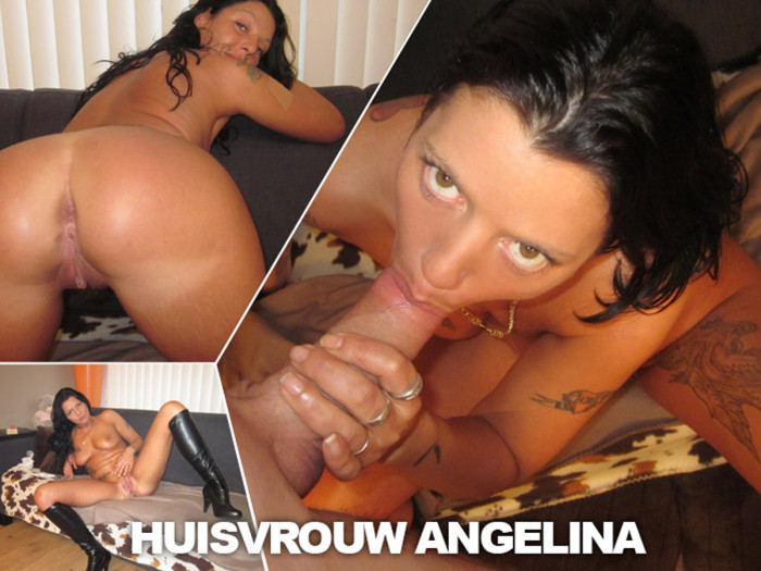 Film Haagse huisvrouw Angelina (38) is drijfnat en wil geneukt worden