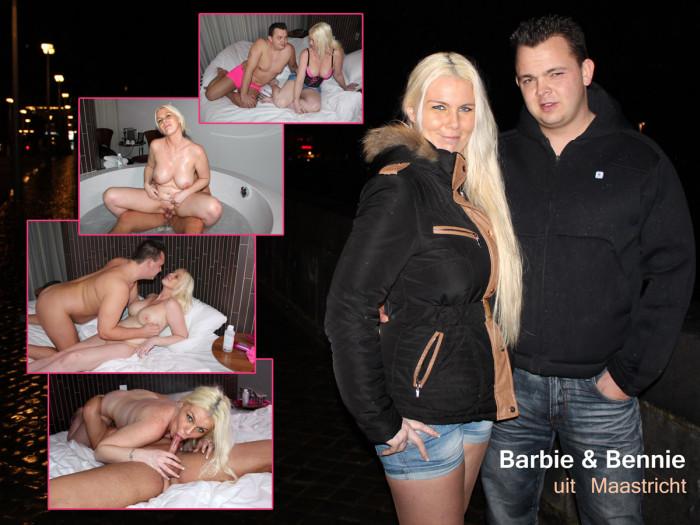 Film Den Haag? Big Tits Barbie woont samen met Bennie in Maastricht!