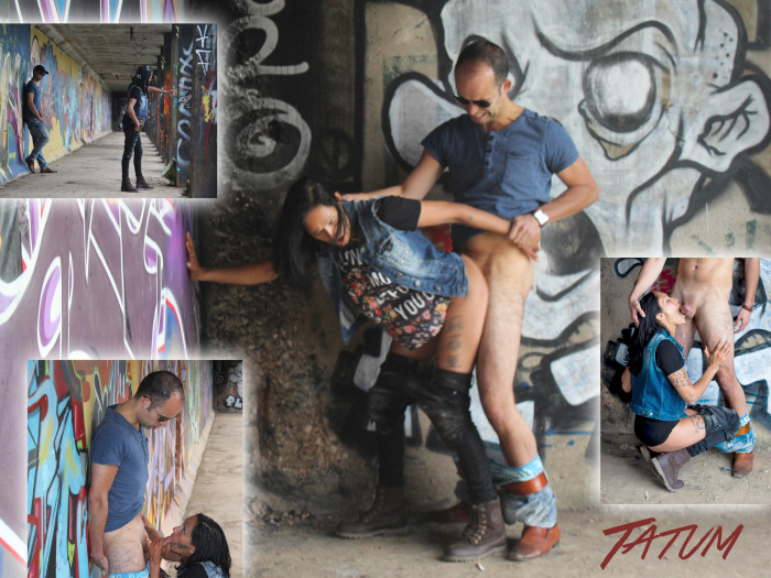 Film Graffiti- en Tattoo Chick Tatum (30) laat jou spuiten