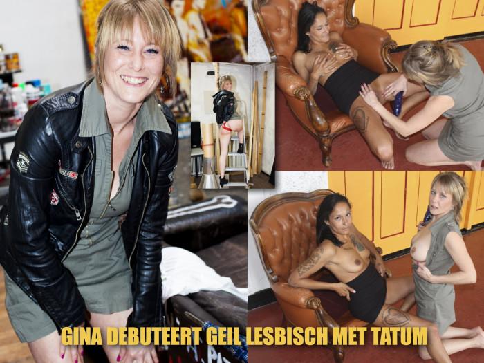 Film Gina verleidt Tatum tot stomend hete lesbische seks