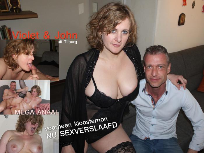 Film Na het klooster komt de sex: Violet en John uit Tilburg
