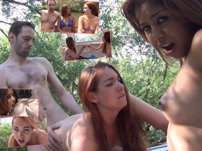 Film Een geil dagje varen met Zoë, haar vriend en Kimberley