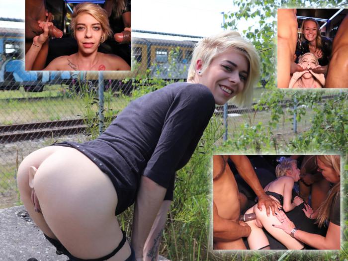 Film Kinky Chica La Roxxx anaal aan de paal, BBC!