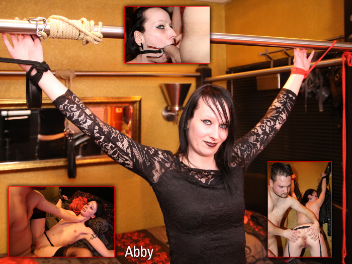 Film Abby de kinky Gothic girl