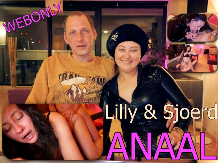Film Web only! Hoe neukt Nederland: Anaal met  Lilly en Sjoerd