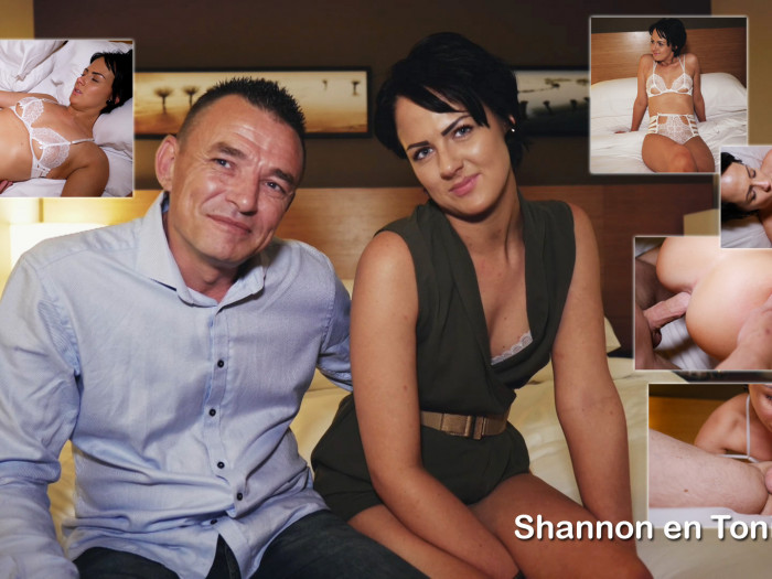 Film Hot Couple Shannon (26) en Toni (41) anaal
