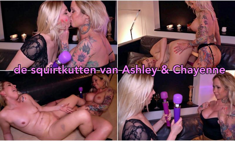 Film De squirtkutten van Ashley en Chayenne