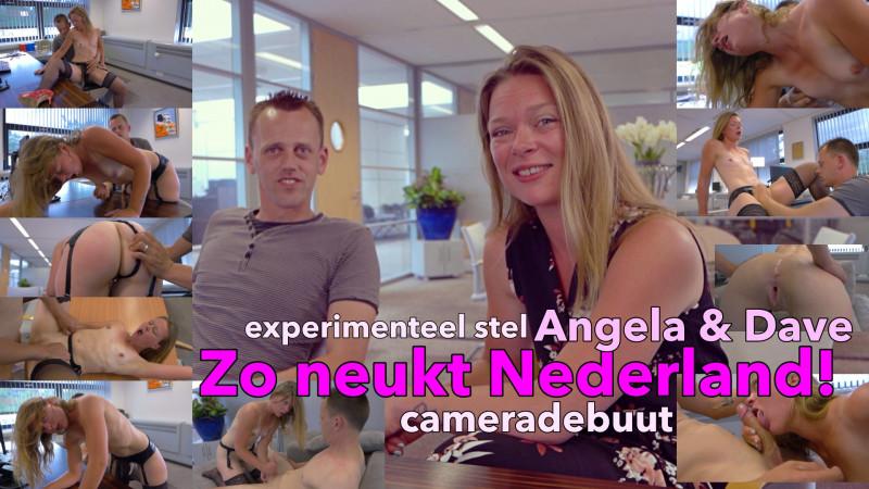 Film Zo neukt Nederland: open-minded stel Angela en Dave