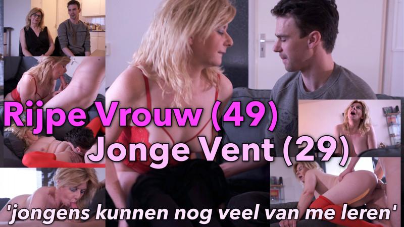 Film Rijpe vrouw (49) met jonge vent (29)