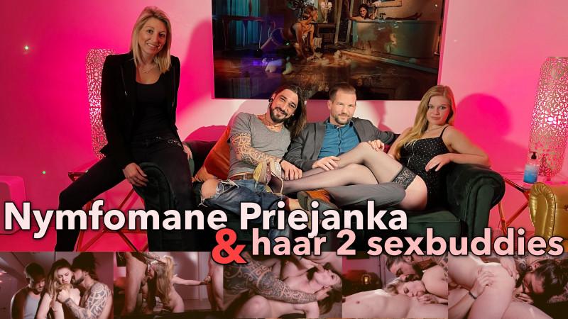 Film Nymfomane Priejanka en haar 2 sexbuddies