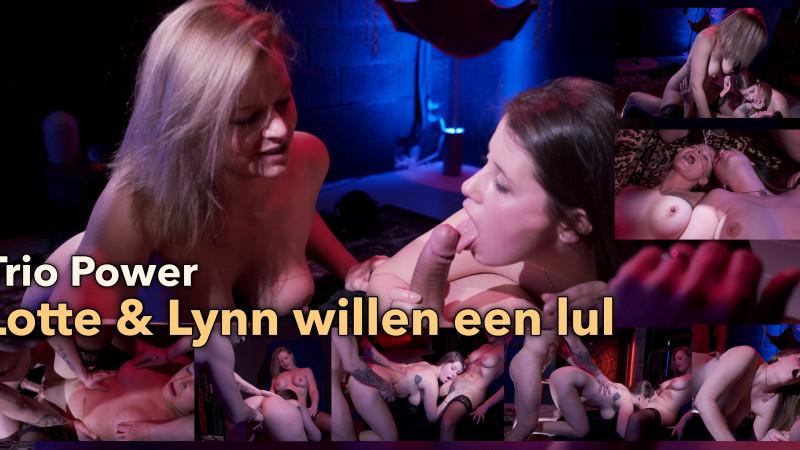 Film Na lesbisch willen Lotte en Lynn een echte lul