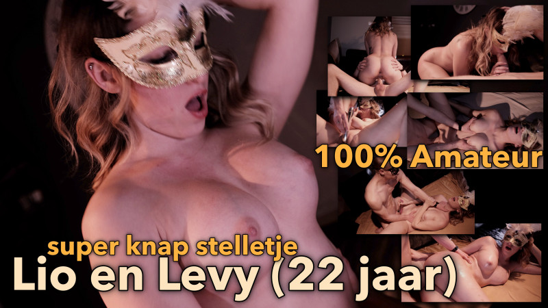 Film Hot Amateur stelletje Lio en Levy (22 jaar)