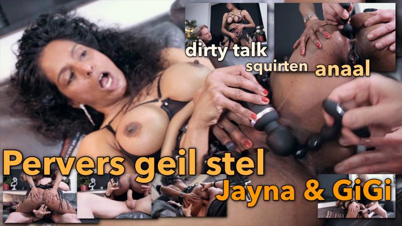 Film Pervers geil mature stel Jayna en GiGi spatten van het scherm