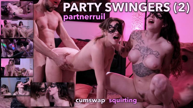 Film Partyswingers (2): jouw vrouw, mijn vrouw. Partnerruil, squirt, cumswap